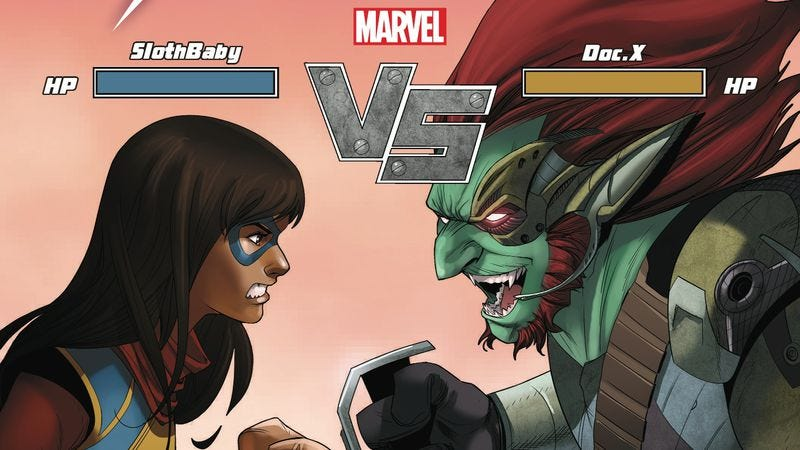 Illustration for article titled Kamala Khan confronts her cyber-stalker in this Ms. Marvel #14 exclusive