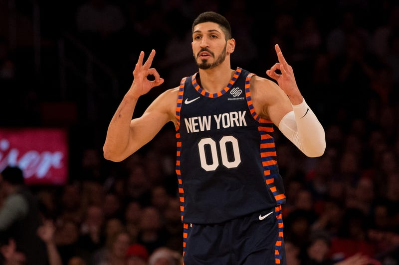 Illustration for article titled Enes Kanter Misses Knicks Practice And Game Due To Grotesque Burger Excess [Update]