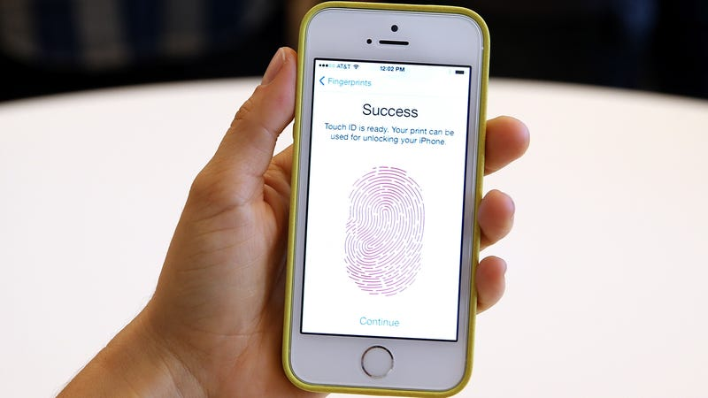 iphone 6s touch id hacken