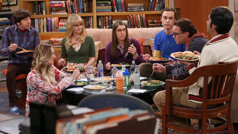 Illustration for article titled CBS validates Big Bang Theory (for three more years, at least)