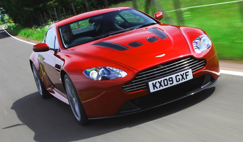 Illustration for article titled 2010 Aston Martin V12 Vantage: Driven