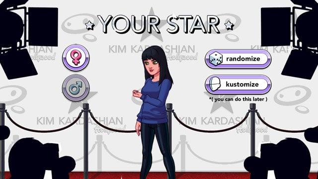 Kim Kardashian Hollywood app dating