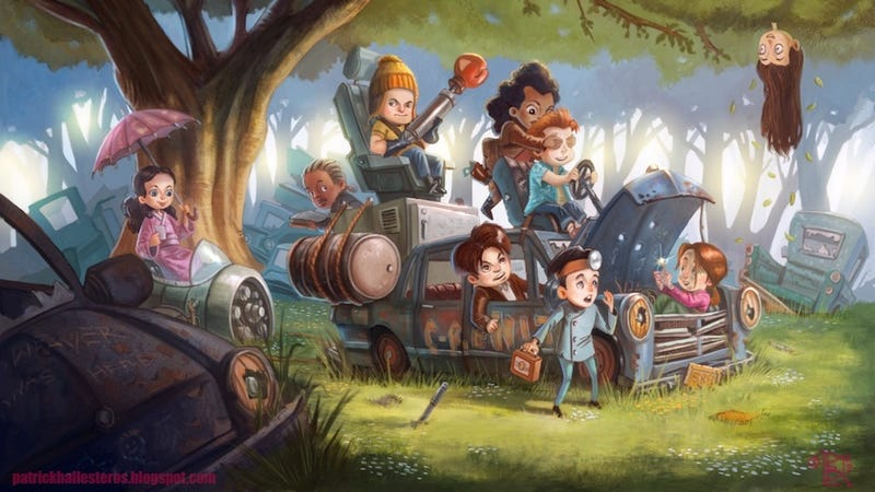 Illustration for article titled The littlest Browncoats play at being Firefly's Big Damn Heroes