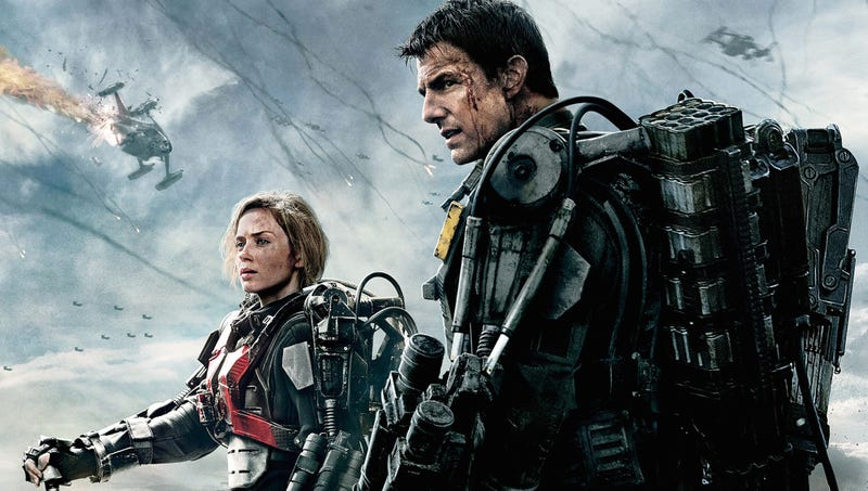 """Illustration for article titled """"Tango down"""" - Edge of Tomorrow as a video game"""