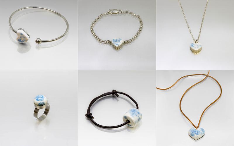 Todas estas joyas están impresas en 3D a partir de las cenizas de personas fallecidas