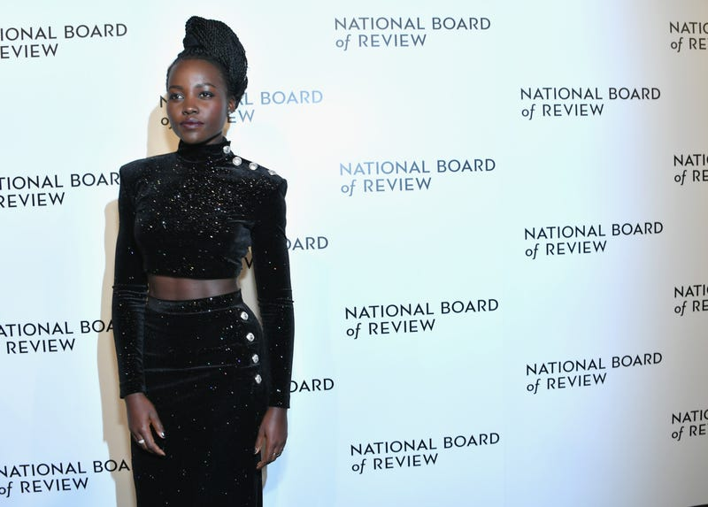 Lupita Nyong'o attends the 2018 National Board of Review Annual Awards Gala at Cipriani 42nd Street on Jan. 9, 2018, in New York City. (Mike Coppola/Getty Images)