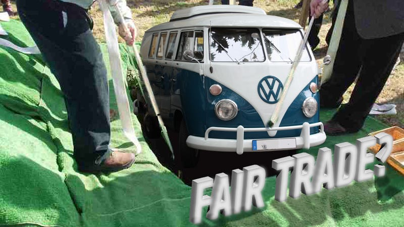 Man On Craigslist Wants To Trade Funeral Plots For Vw Bus
