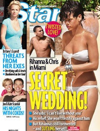 Illustration for article titled Rihanna & Chris Brown: Getting Married?