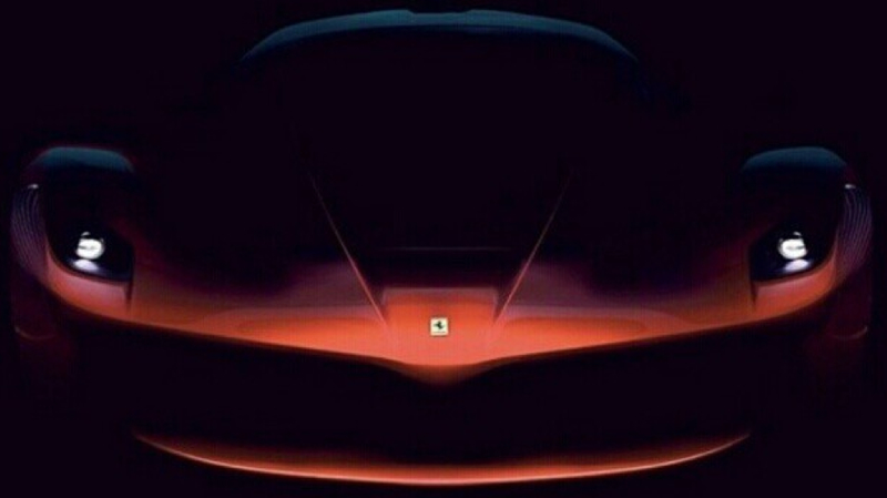 Illustration for article titled Ferrari's F150 Hypercar Might Be A 950 Horsepower Dominatrix