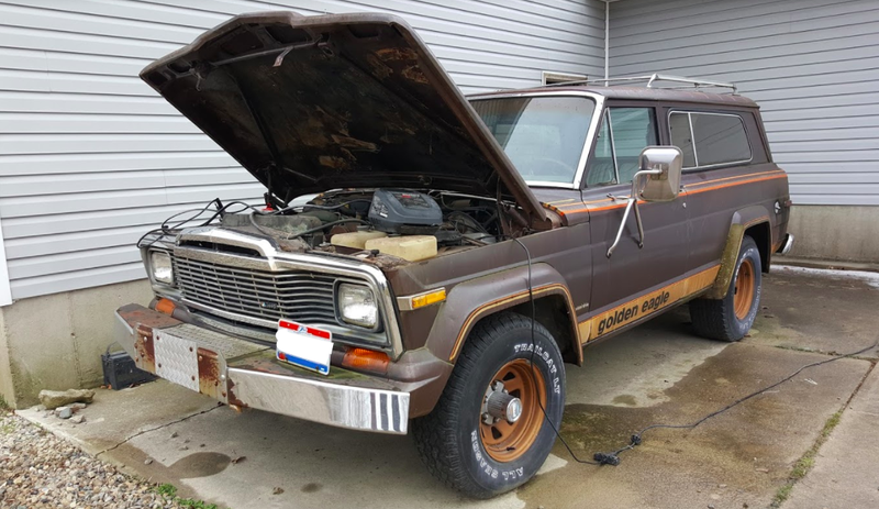 Illustration for article titled Please Help Me Decide If I Should Buy This 1979 Jeep Cherokee Golden Eagle