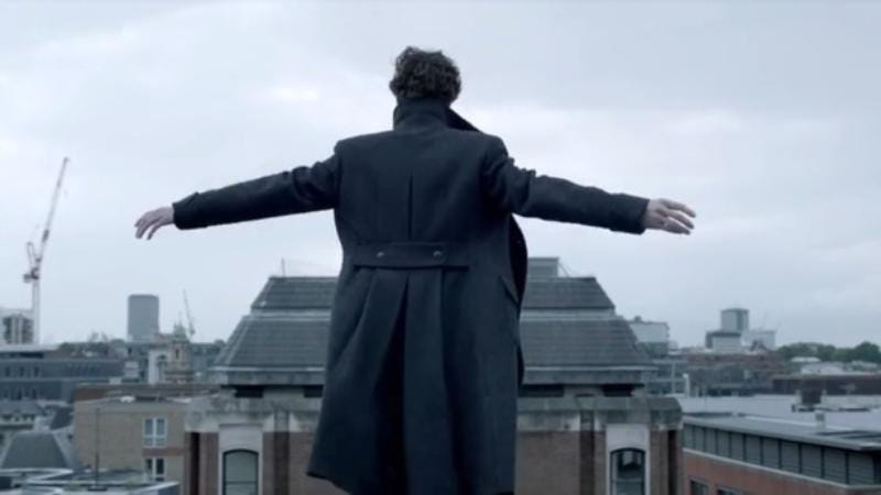 Illustration for article titled The next season of Sherlock will probably end on another crazy cliffhanger