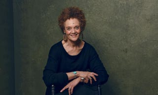 Kathleen Cleaver, who is featured in The Black Panthers: Vanguard of the Revolution, poses for a portrait at Village at the Lift, presented by McDonald's McCafe, during the 2015 Sundance Film Festival Jan. 25, 2015, in Park City, Utah.Larry Busacca/Getty Images