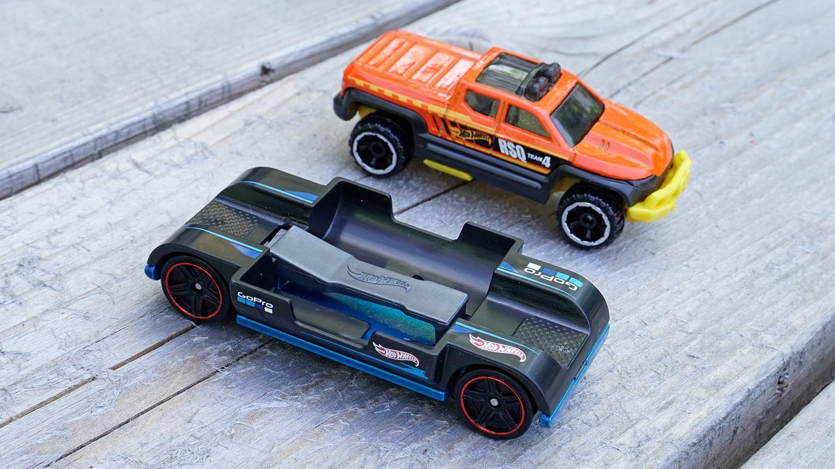 You Can Strap a GoPro to This New Hot Wheels Car and Ride