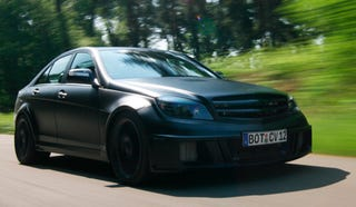 Illustration for article titled Brabus Bullit Black Arrow Finally Goes On Sale, Takes Mercedes C-Class To The Extreme