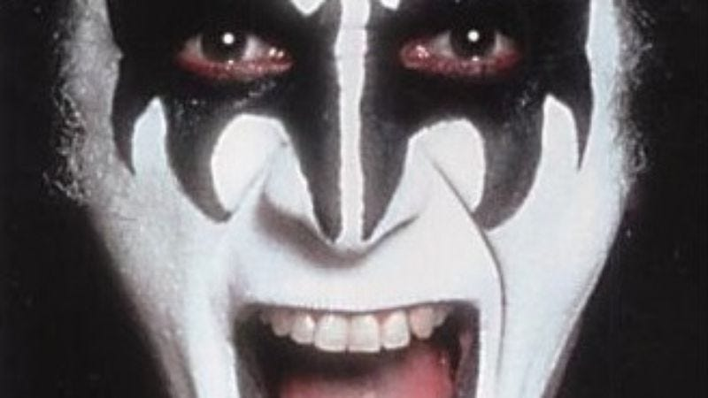 Illustration for article titled Gene Simmons' Kiss And Make-Up lets The Demon speak for himself