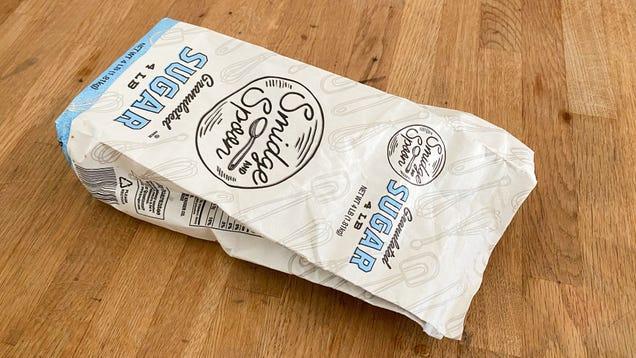 Why Everyone Should Keep an Empty Sugar Bag on Hand