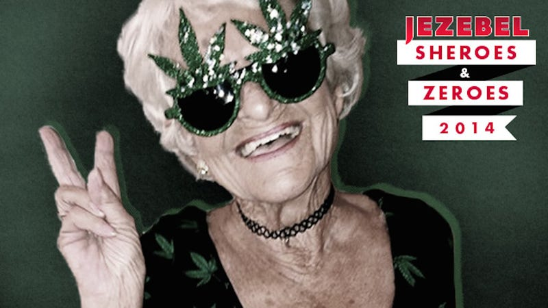 Illustration for article titled Baddie Winkle, Trill Weed Grandma, Stealing Your Man Since 1928