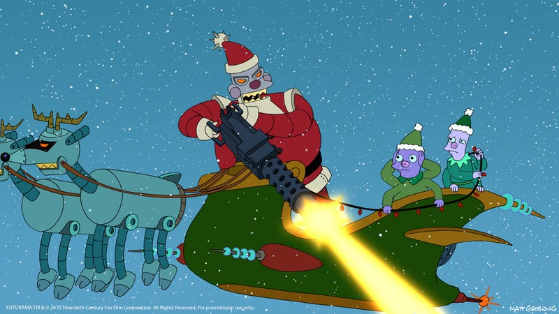 Illustration for article titled Robot Santa Claus is Now Real