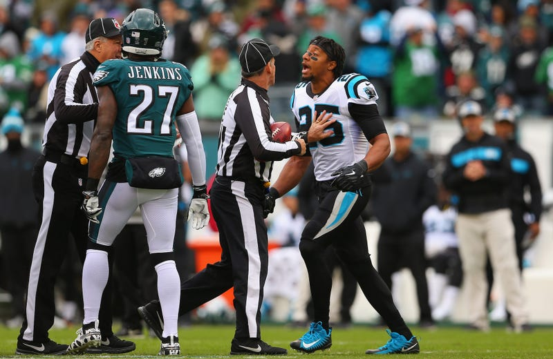 f85169f55 Eric Reid Tries To Settle A Score With Malcolm Jenkins In Panthers-Eagles  Coin Toss