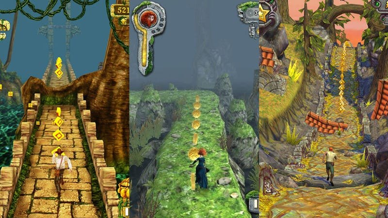 Illustration for article titled This Week's Android Charts: A Temple Run Triple Play