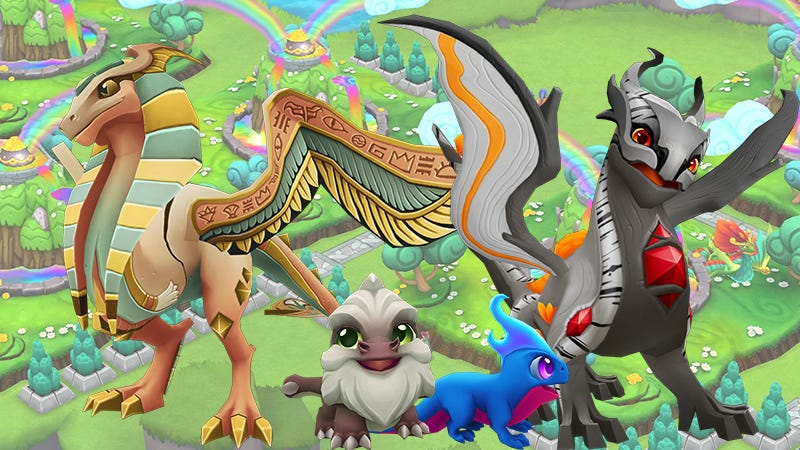 Dragonvale World Takes Obsessive Dragon Breeding To The Next Level