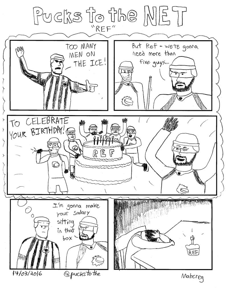 Illustration for article titled Referee's Birthday