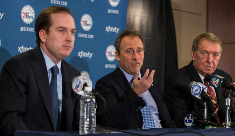 Illustration for article titled Reports: The NBA Wants Sam Hinkie Out Of The Paint
