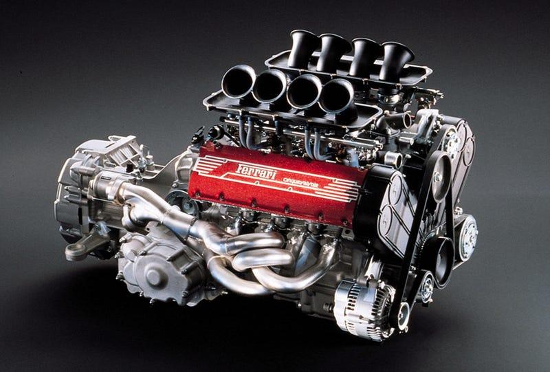 The Ferrari 355 Engine Is Arrestingly Beautiful