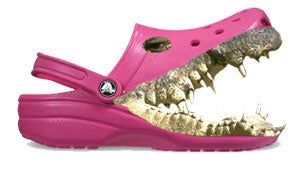 Illustration for article titled Killer Crocs: The Summer's Fugliest Shoes... Banned!