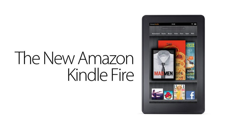 Illustration for article titled This Is the New Amazon Kindle Fire Color Tablet—and It's Only $199! (Updated with Impressions)