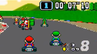 Illustration for article titled That Time When Mario And 'Evil Brother' Luigi Starred In a Racing Game
