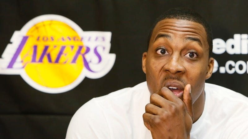Illustration for article titled Houston Rockets Get Fined For Announcing Dwight Howard's Signing
