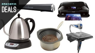 Illustration for article titled Sony Sound Bars, Extra USB Ports, Popular Kitchen Gear, Your Next TV