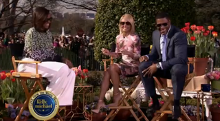 Michelle Obama on Live! With Kelly and MichaelVideo Screenshot
