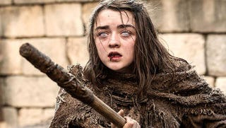 Move over, Stick. Arya's the new leader of the Chaste.