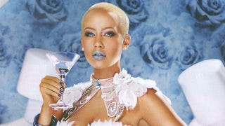 Illustration for article titled There Is Such A Thing As Marshmallow Vodka, And Amber Rose Is Its Face