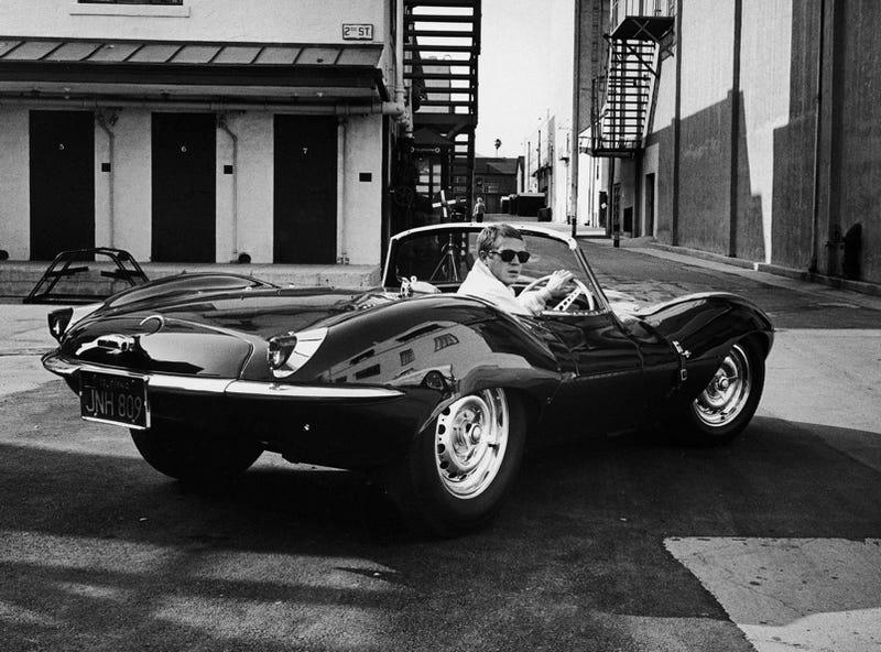 Illustration for article titled Steve McQueen's Other Car: the Jaguar XKSS
