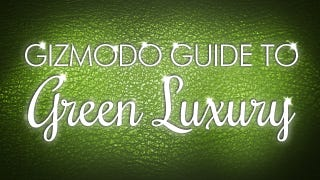 Illustration for article titled Introducing the Gizmodo Guide to Green Luxury