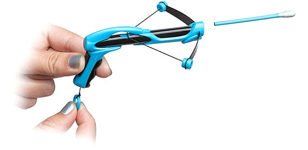 Q-Tip Crossbow Lets You Help Friends With Their Hygiene From Across the Room