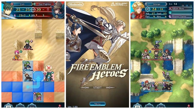 Illustration for article titled Fire Emblem: Heroes es el próximo juego de Nintendo para smartphones (y llega en febrero)