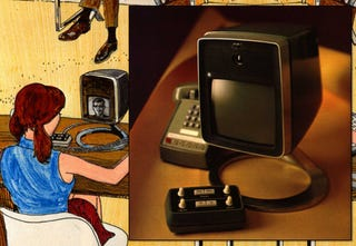 Illustration for article titled The 132-Year History of Videophones