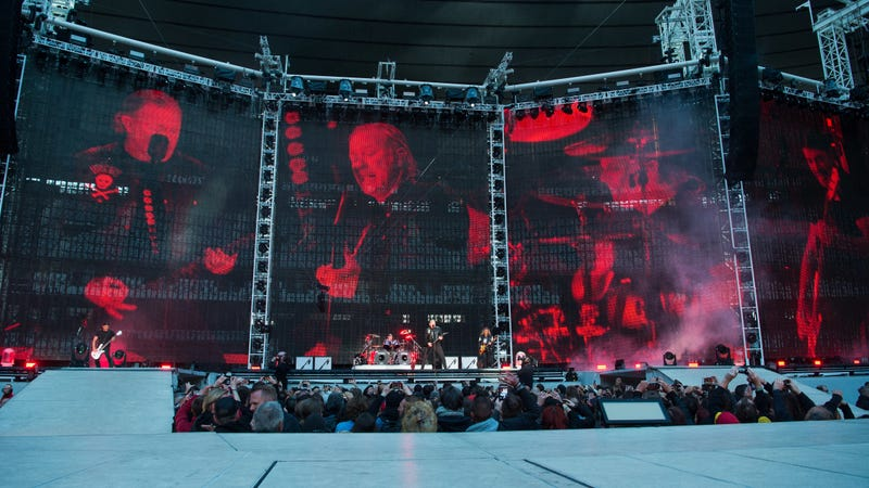Live Nation cops to working with a Metallica