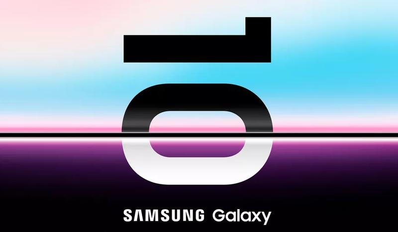 La invitación de Samsung al evento del Galaxy S10.