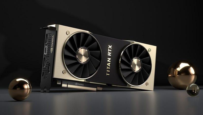 Illustration for article titled Nueva Nvidia Titan RTX: una gráfica tan potente que no está pensadas para gamers, sino para científicos