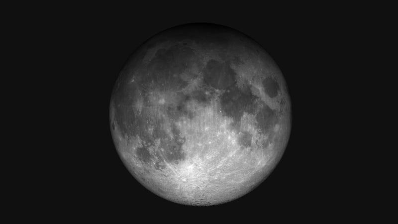 Eclipse penumbral de Luna de enero de 1999. Imagen: Wikimedia Commons