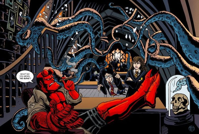 Illustration for article titled io9 March Madness Sweet 16: Star Wars vs. Dune! Buffy vs. Cthulhu!