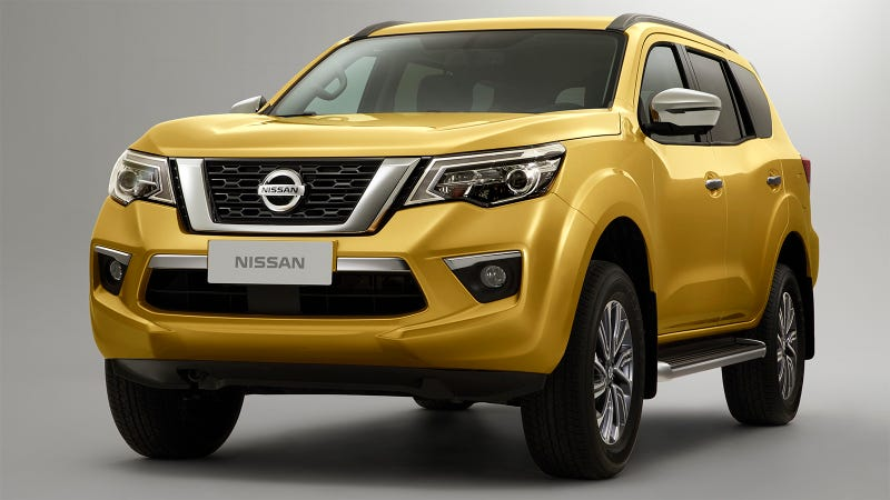 The Nissan Terra Reminds Me Of The 2020 Ford Bronco That Doesn T