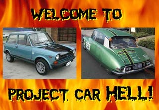 Illustration for article titled Project Car Hell: Abarth A112 or Carrera Panamericana Citroen?