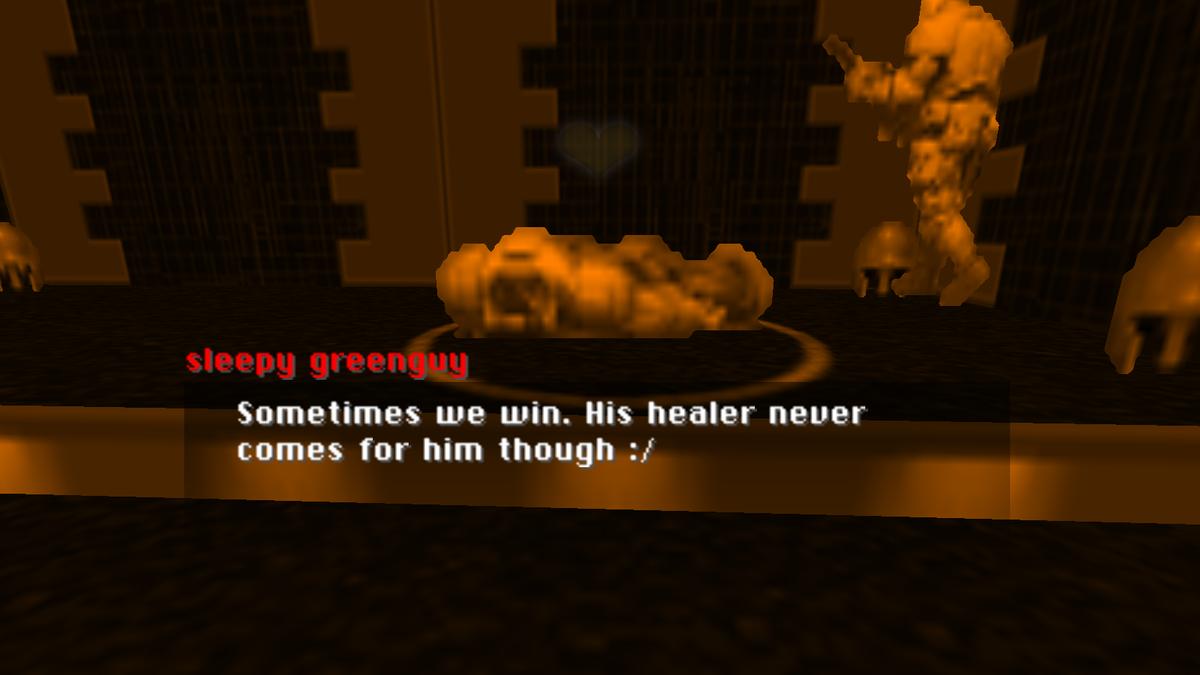 A Doom Mod Where You Make Friends With Demons
