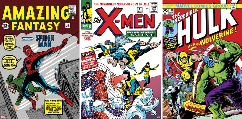 Three of the most iconic comic books ever can now decorate your walls.